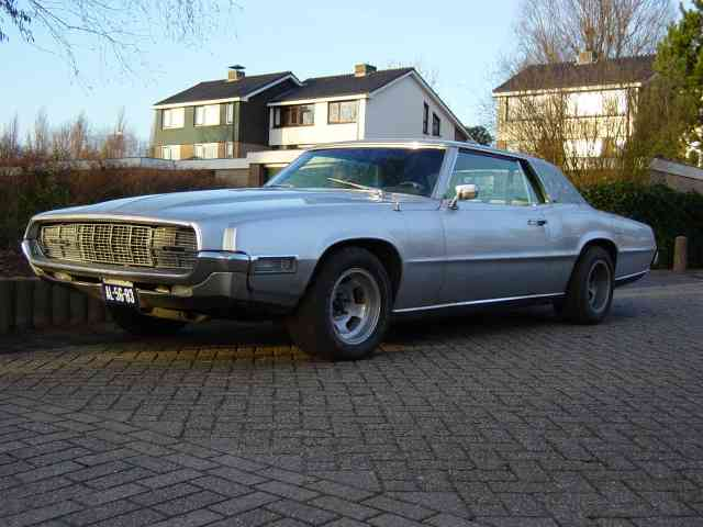 My 1968 Ford Thunderbird, V8 7.02 liter, 360 HP, 650 Nm torque,
